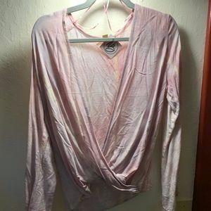Lilac Tie Dye Top